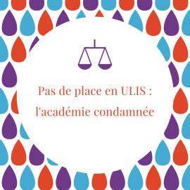 Pas de place en ULIS : l'Académie de Créteil condamnée